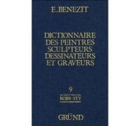 DICTIONNAIRE DES PEINTRES SCULPTEURS DESSINATEURS ET GRAVEURS