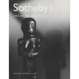 AFRICAN AND OCEANIC ART  - SOTHEBY'S NEW YORK NOVEMBER 2003